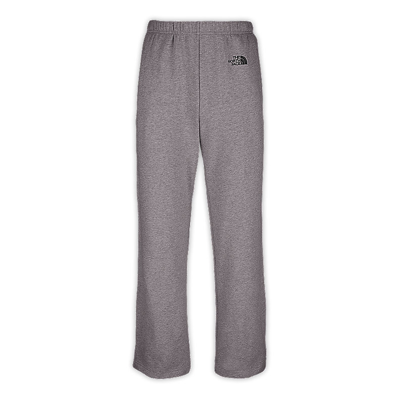NORTH FACE MEN LOGO PANTS CHARCOAL HEATHER