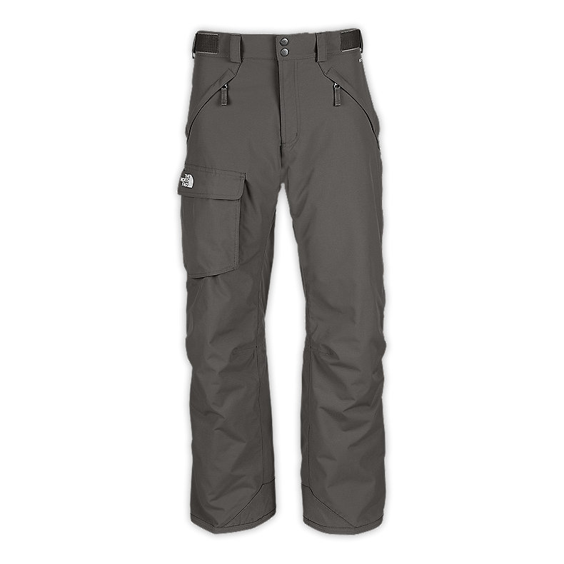 NORTH FACE MEN FREEDOM INSULATED PANTS METALLIC SILVER
