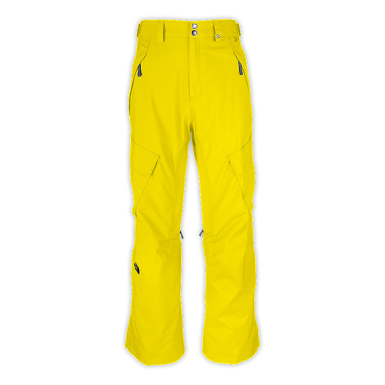 NORTH FACE MEN SLASHER CARGO PANT ENERGY YELLOW