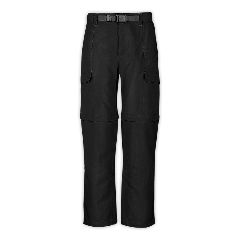 NORTH FACE MEN PARAMOUNT PEAK CONVERTIBLE PANTS TNF BLACK