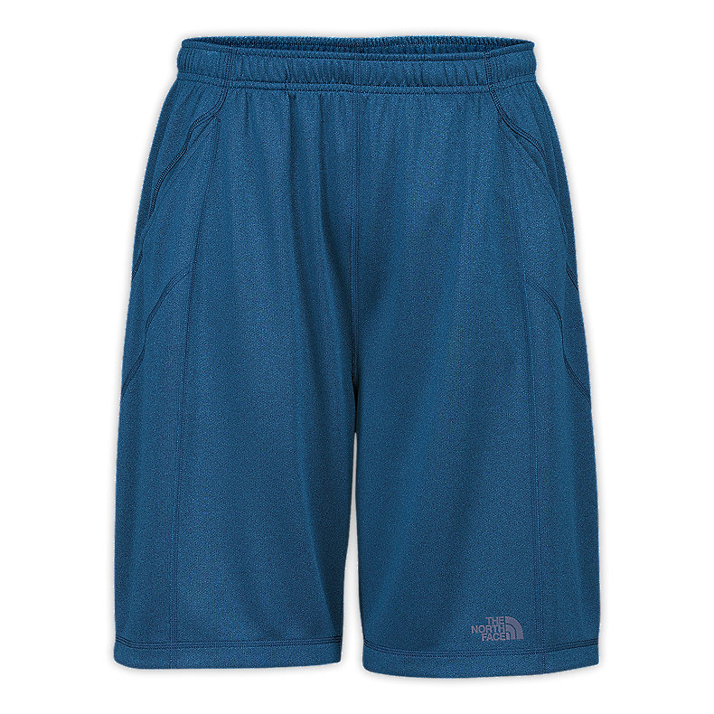 NORTH FACE MEN CORE SHORTS DEEP WATER BLUE HEATHER