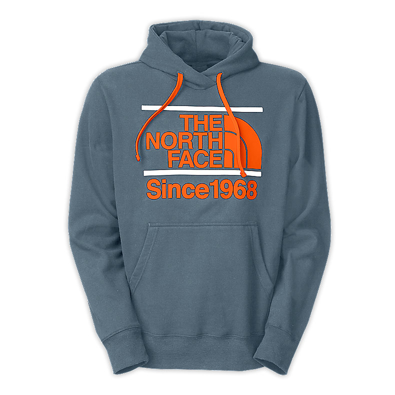 NORTH FACE MEN BETWEEN THE BARS PULLOVER HOODIE CONQUER BLUE