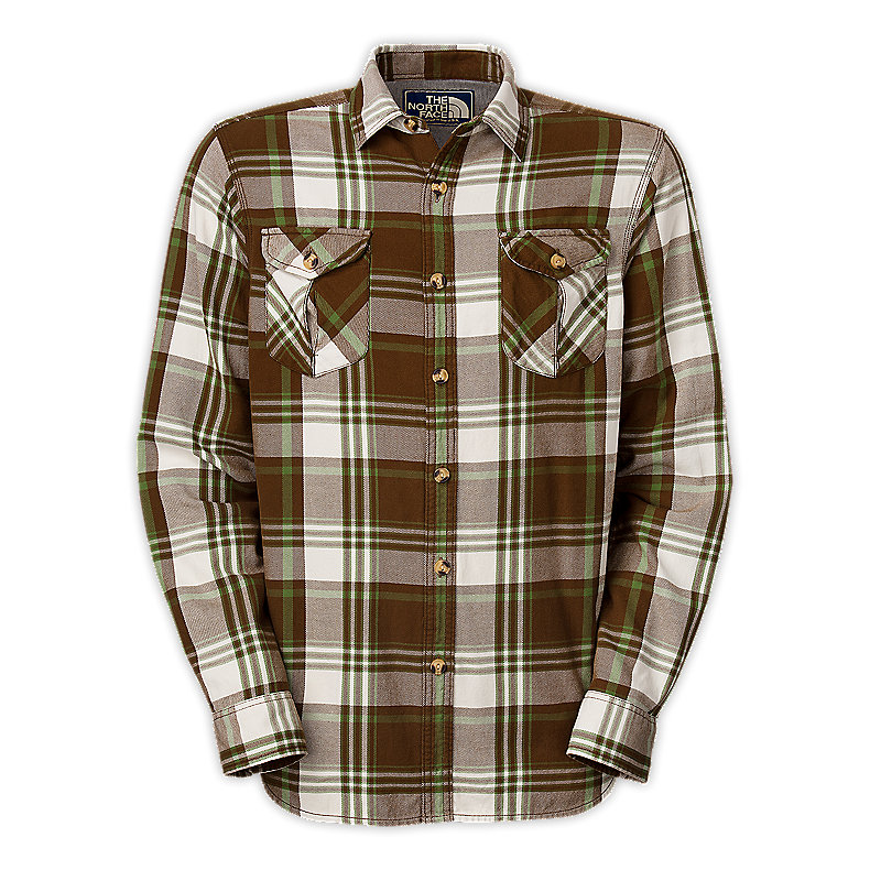NORTH FACE MEN PORTAGE FLANNEL BURROW BROWN