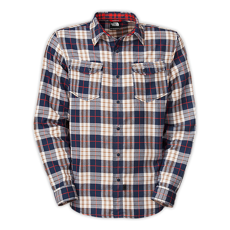 NORTH FACE MEN TAKE FLANNEL DEEP WATER BLUE