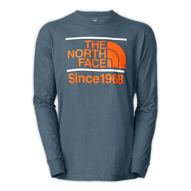 NORTH FACE MEN L/S BETWEEN THE BARS TEE CONQUER BLUE