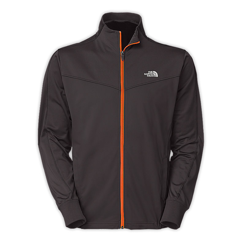 NORTH FACE MEN FLEX TRICOT TRACK JACKET GRAPHITE GREY