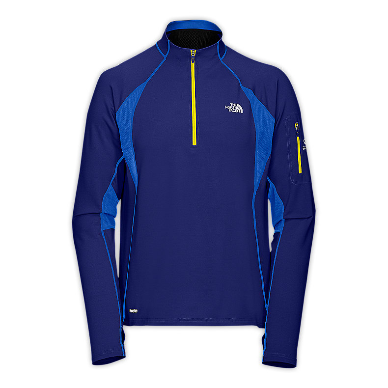 NORTH FACE MEN IMPULSE 1/4 ZIP BOLT BLUE / JAKE BLUE
