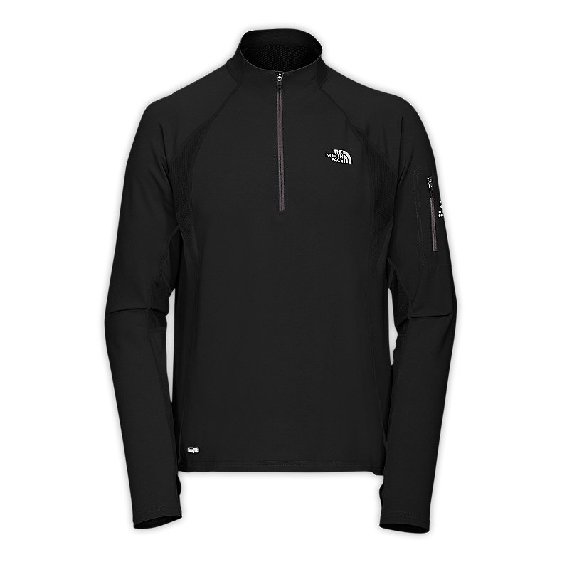 NORTH FACE MEN IMPULSE 1/4 ZIP TNF BLACK