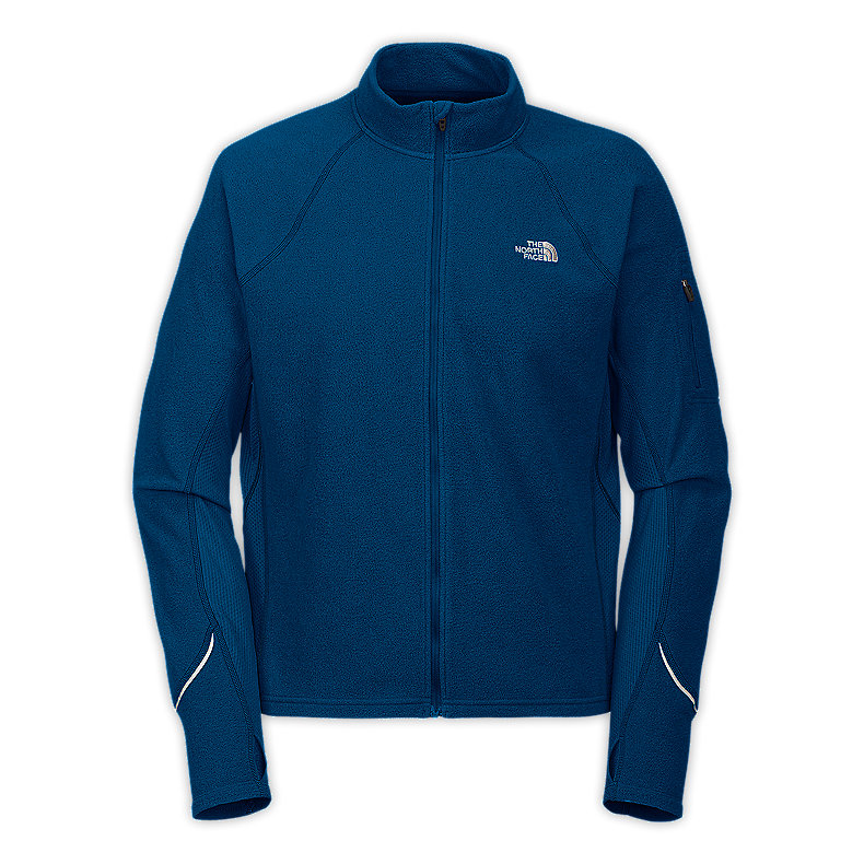 NORTH FACE MEN TKA 80 FULL ZIP ACE BLUE