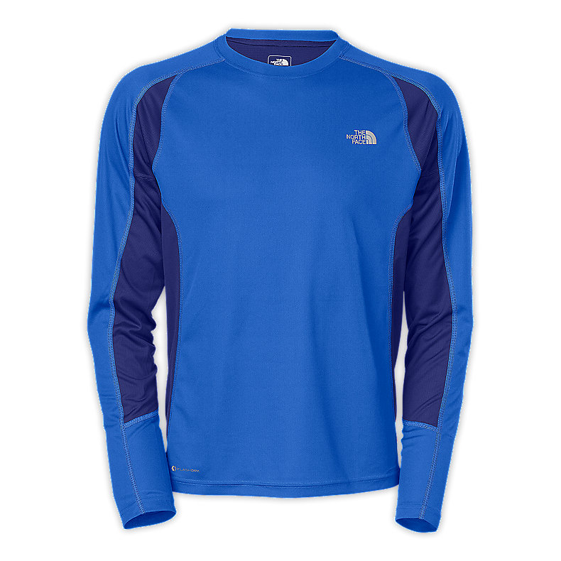 NORTH FACE MEN GTD LONG-SLEEVE JAKE BLUE / BOLT BLUE