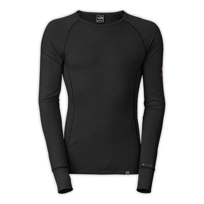NORTH FACE MEN WARM MERINO CREW TNF BLACK