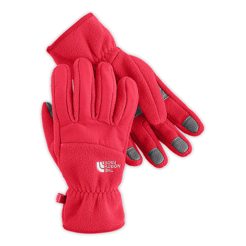 NORTH FACE WOMEN DENALI GLOVE TEABERRY PINK