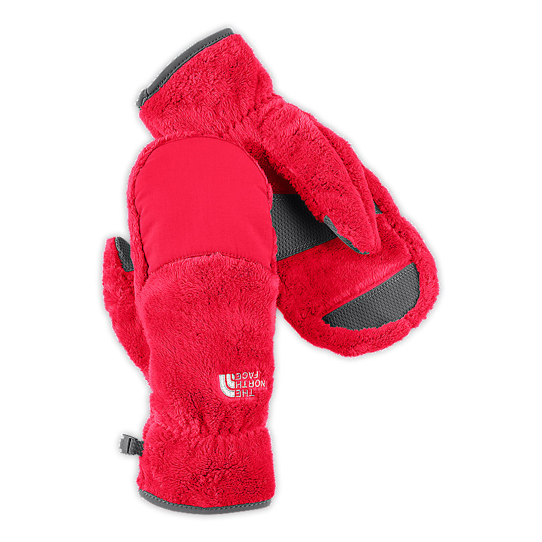 NORTH FACE WOMEN DENALI THERMAL MITT TEABERRY PINK