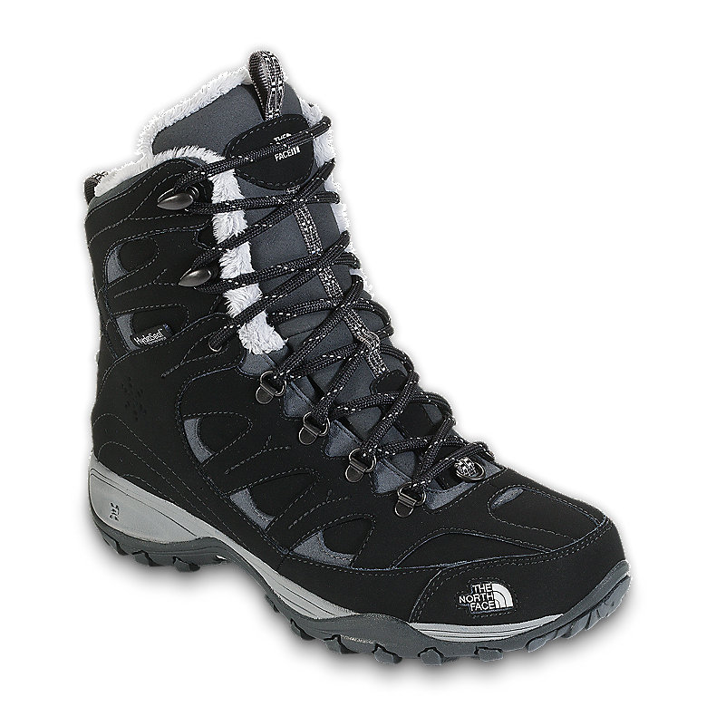 NORTH FACE WOMEN SNOW-DRIFT TALL BOOT BLACK / SPACKLE GREY