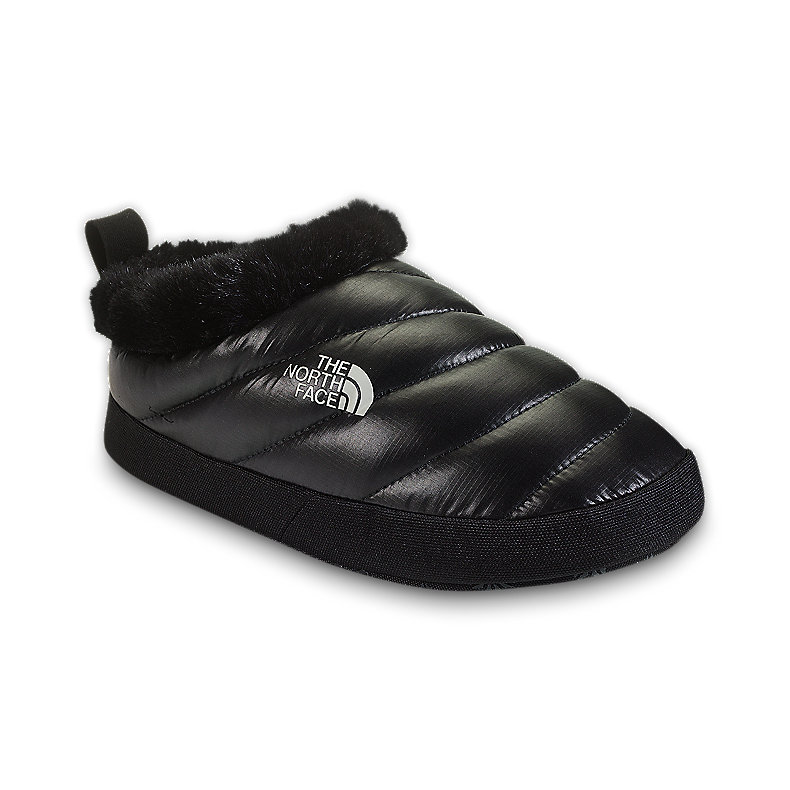 NORTH FACE WOMEN NSE TENT MULE FUR II SHINY BLACK / BLACK