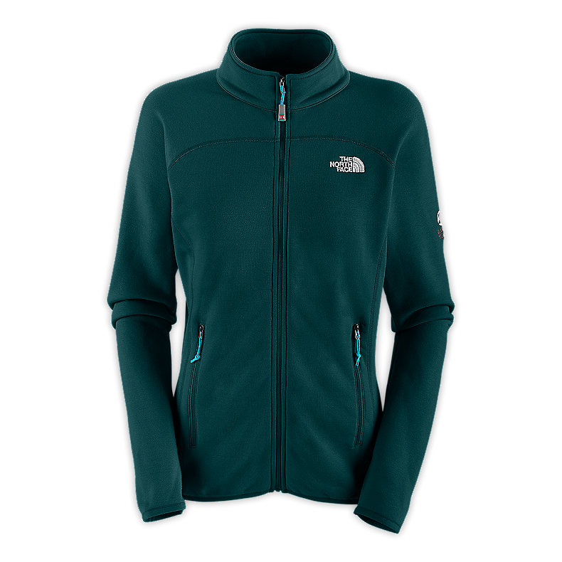 NORTH FACE WOMEN FLUX POWER STRETCH JACKET KODIAK BLUE