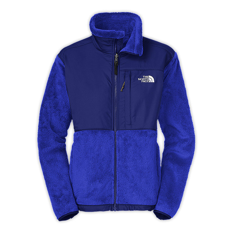 NORTH FACE WOMEN DENALI THERMAL JACKET VIBRANT BLUE / BOLT BLUE