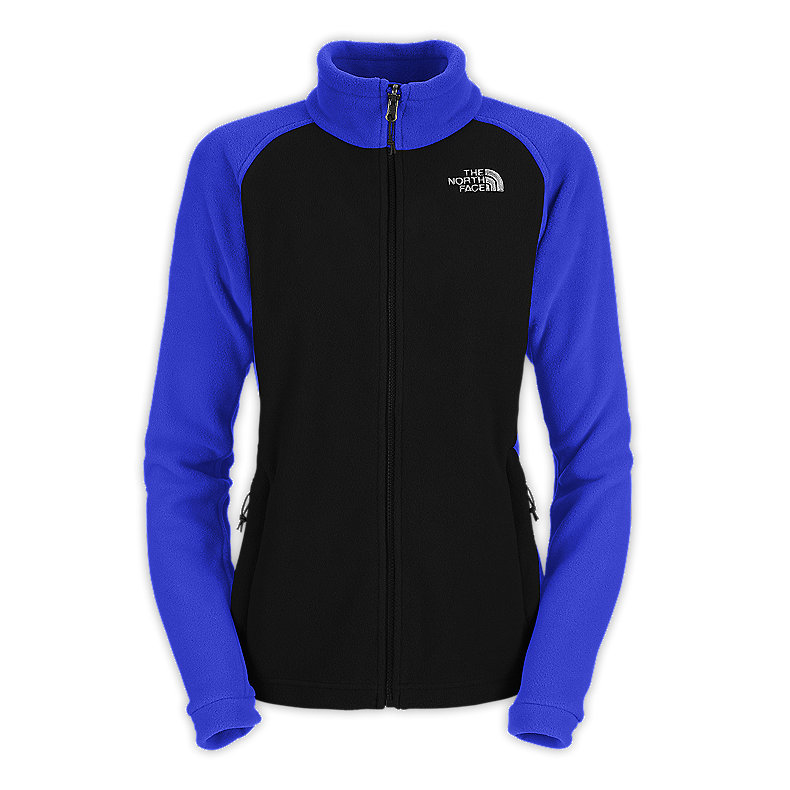NORTH FACE WOMEN KHUMBU JACKET TNF BLACK / VIBRANT BLUE