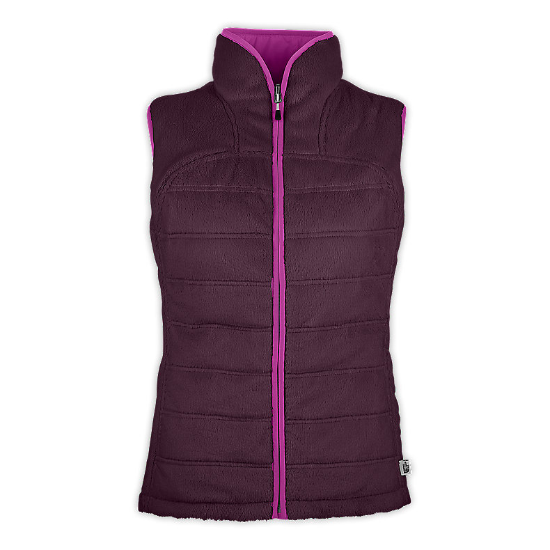 NORTH FACE WOMEN MOSSBUD INSULATED VEST BAROQUE PURPLE / PREMIERE PURPLE
