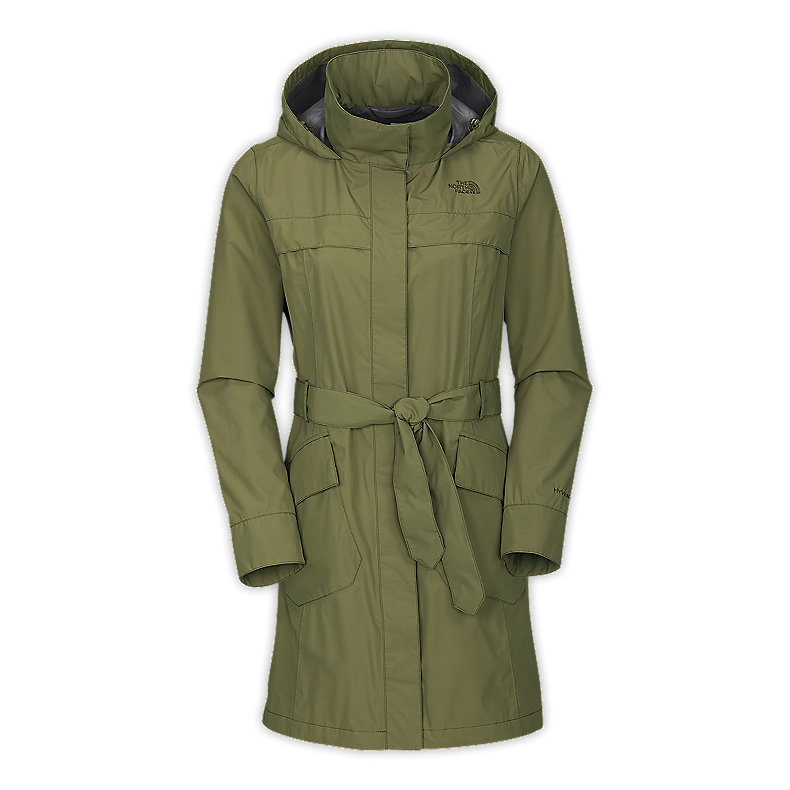 NORTH FACE WOMEN STELLA GRACE JACKET THORN GREEN