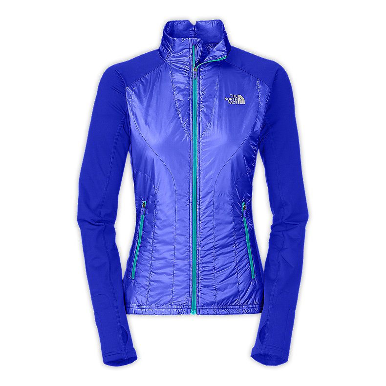 NORTH FACE WOMEN ANIMAGI JACKET VIBRANT BLUE