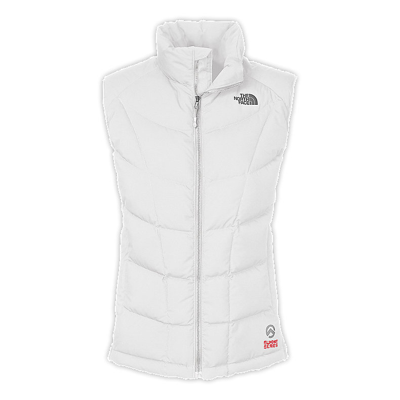 NORTH FACE WOMEN A-BACK HYBRID DOWN VEST TNF WHITE