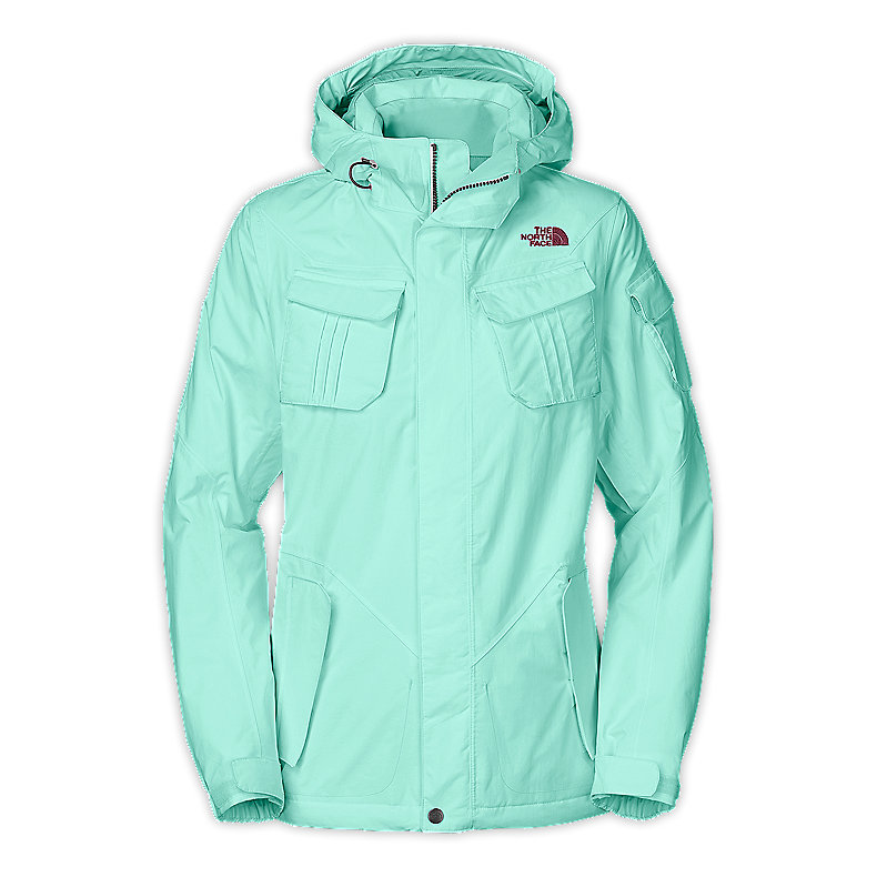 NORTH FACE WOMEN DECAGON JACKET BROOK BLUE