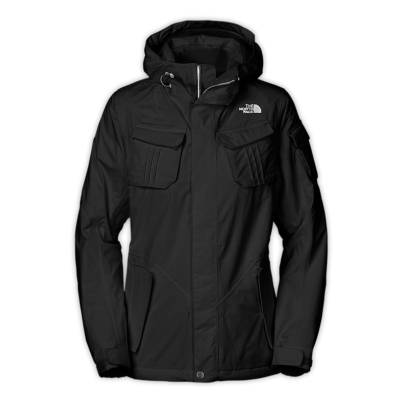 NORTH FACE WOMEN DECAGON JACKET TNF BLACK