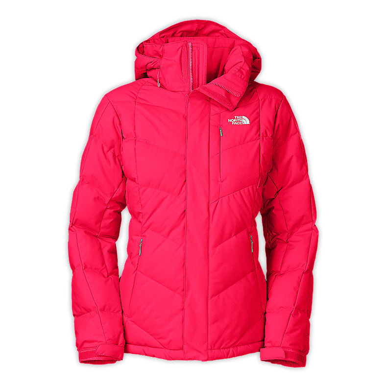 NORTH FACE WOMEN AMORE DOWN JACKET BARBERRY PINK