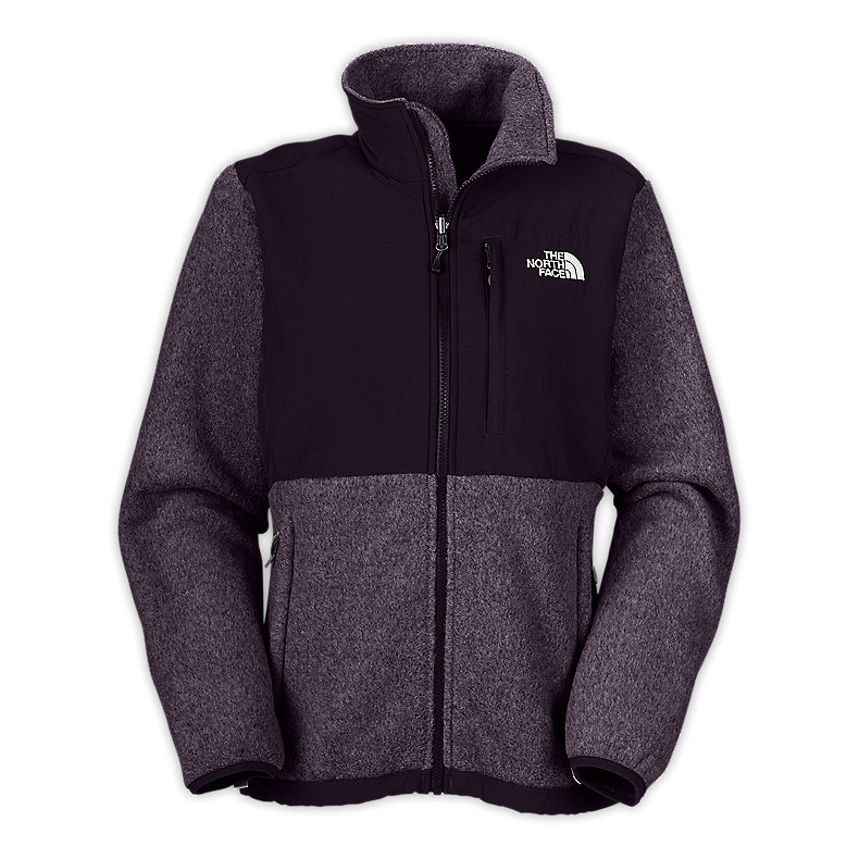 NORTH FACE WOMEN DENALI JACKET BAROQUE PURPLE HEATHER / BAROQUE PURPLE