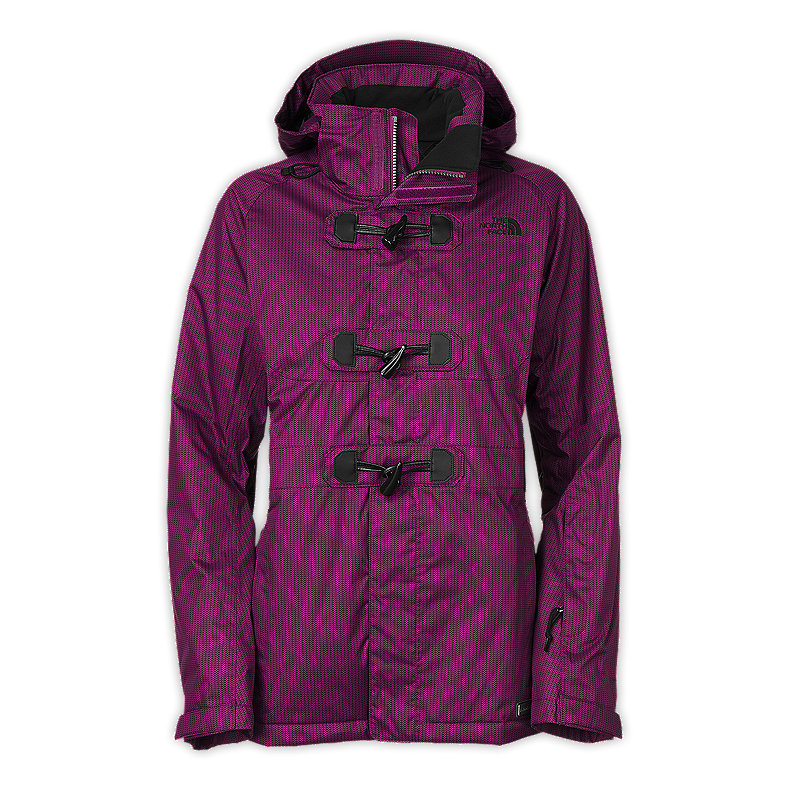 NORTH FACE WOMEN GINGER DELUX JACKET PREMIERE PURPLE