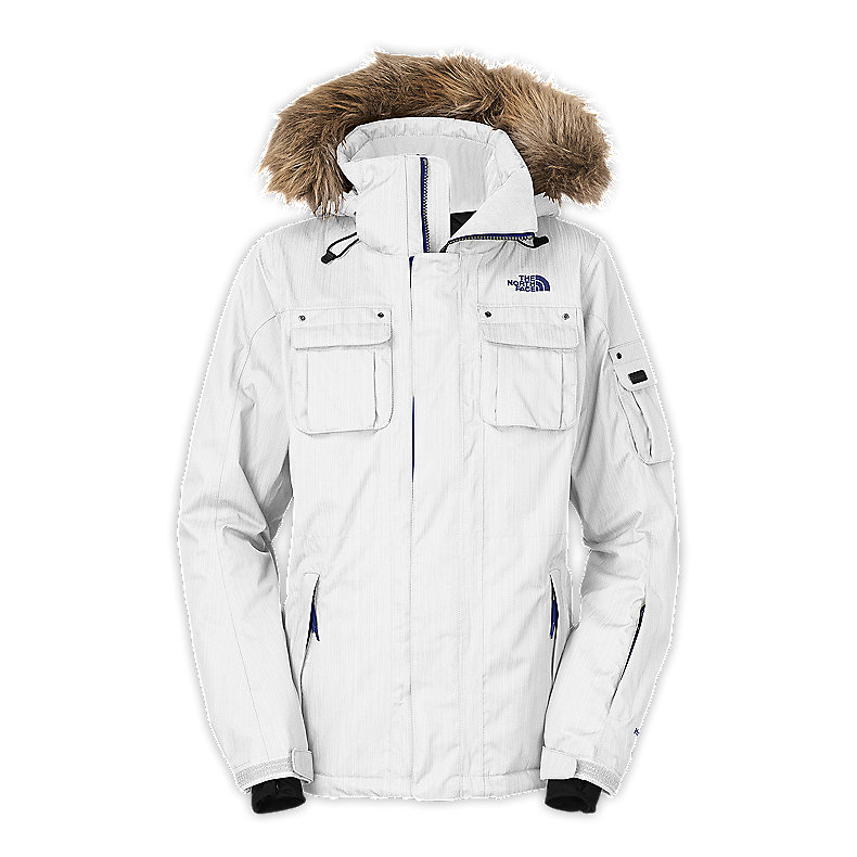 NORTH FACE WOMEN BAKER DELUX JACKET TNF WHITE