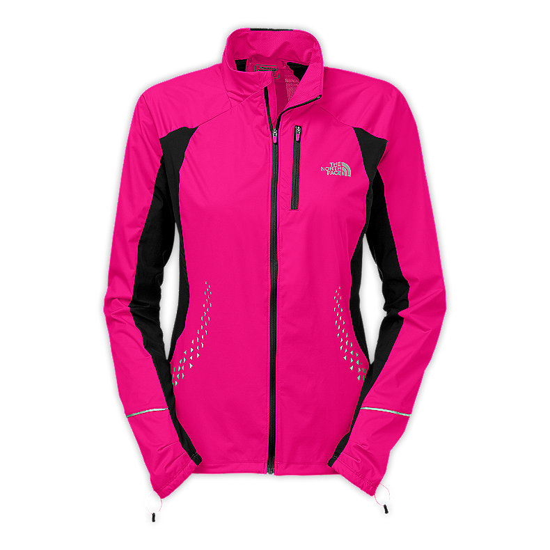 NORTH FACE WOMEN APEX LITE JACKET RAZZLE PINK / TNF BLACK