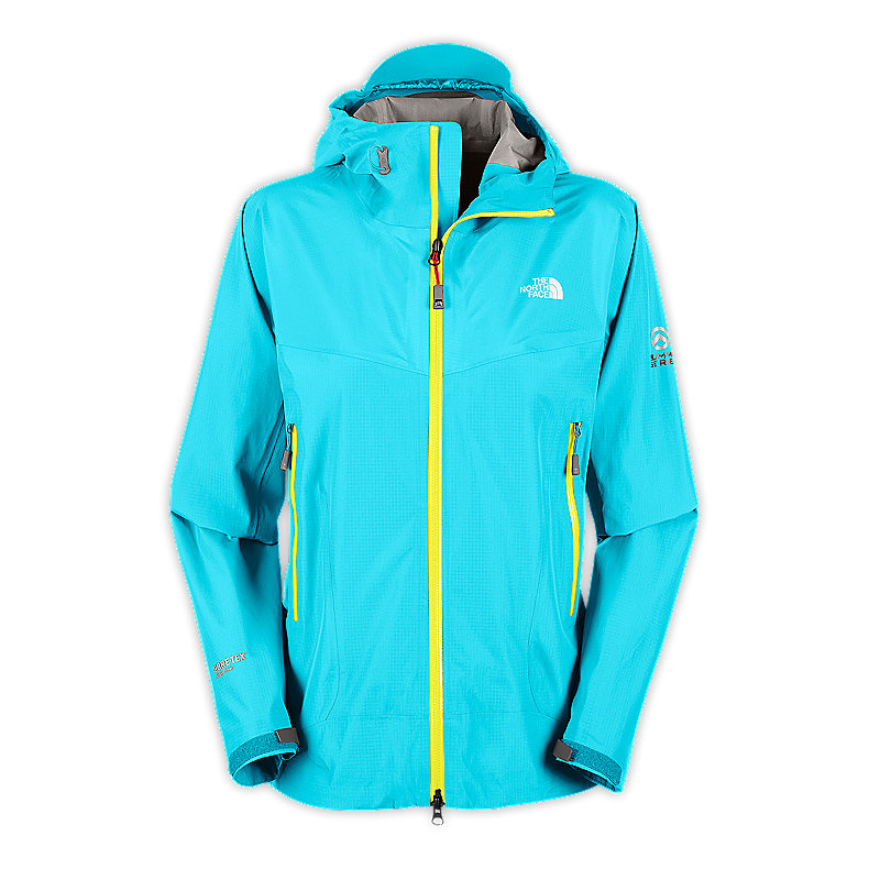 NORTH FACE WOMEN ALPINE PROJECT JACKET TURQUOISE BLUE