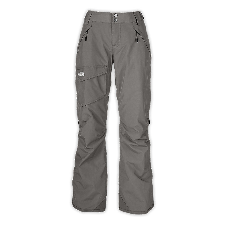 NORTH FACE WOMEN FREEDOM LRBC INSULATED PANT METALLIC SILVER