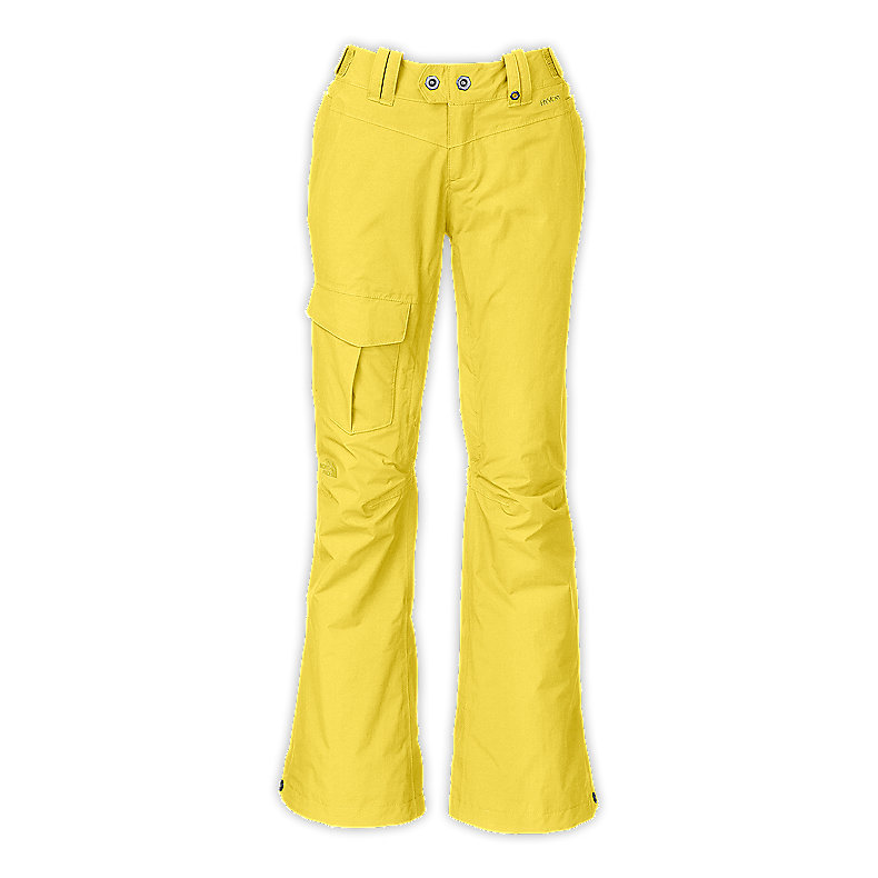 NORTH FACE WOMEN SHAWTY PANT STINGER YELLOW