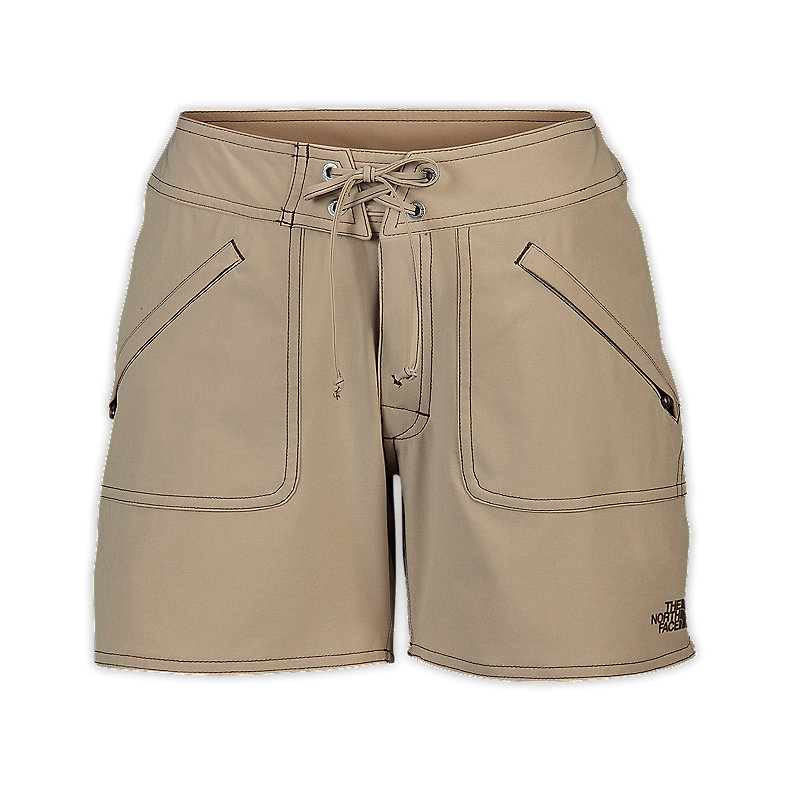 NORTH FACE WOMEN APEX WASHOE SHORTS DUNE BEIGE