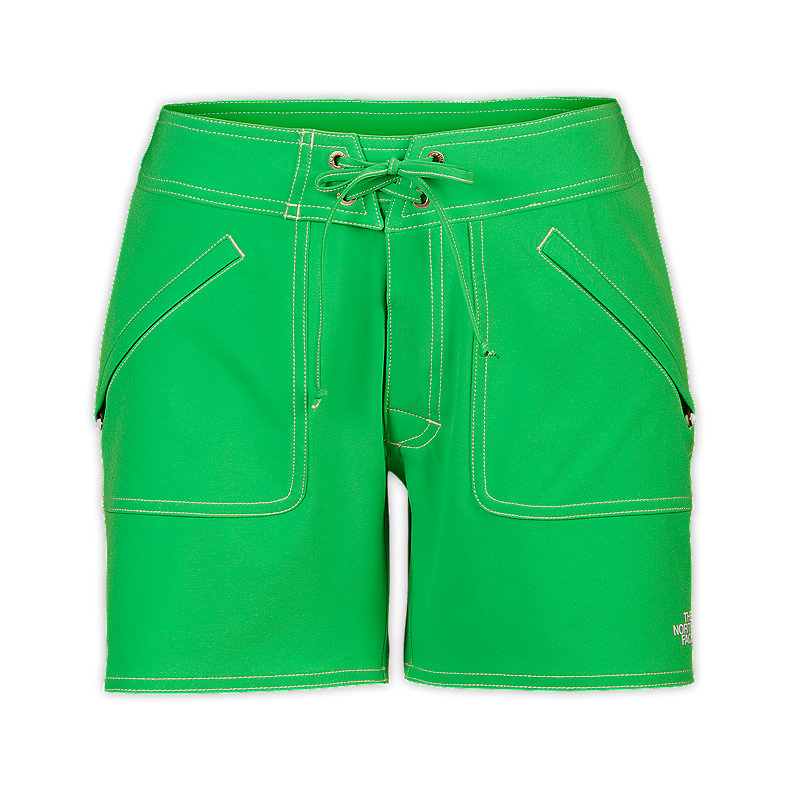 NORTH FACE WOMEN APEX WASHOE SHORTS MOJITO GREEN