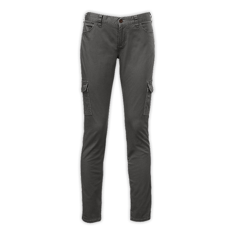NORTH FACE WOMEN ATKA MATCHSTICK CARGO PANT GRAPHITE GREY