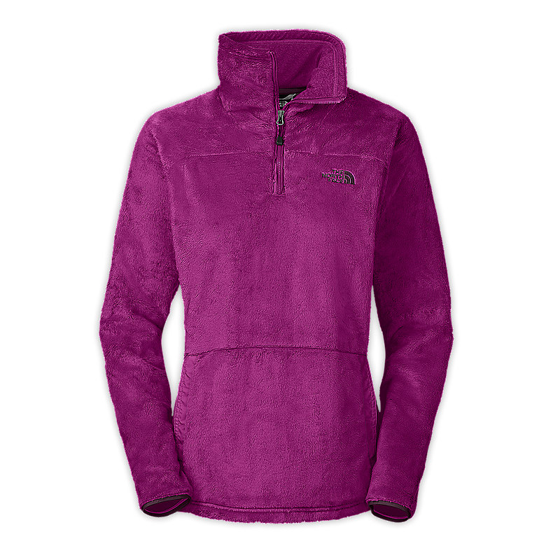 NORTH FACE WOMEN MOSSBUD 1/2 ZIP PREMIERE PURPLE