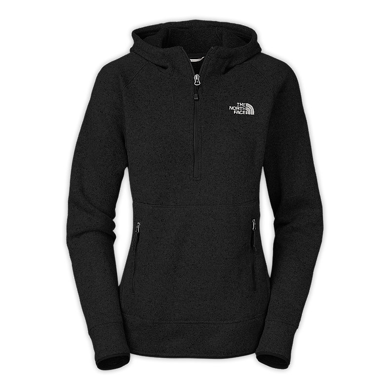 NORTH FACE WOMEN CRESCENT SUNSHINE HOODIE TNF BLACK
