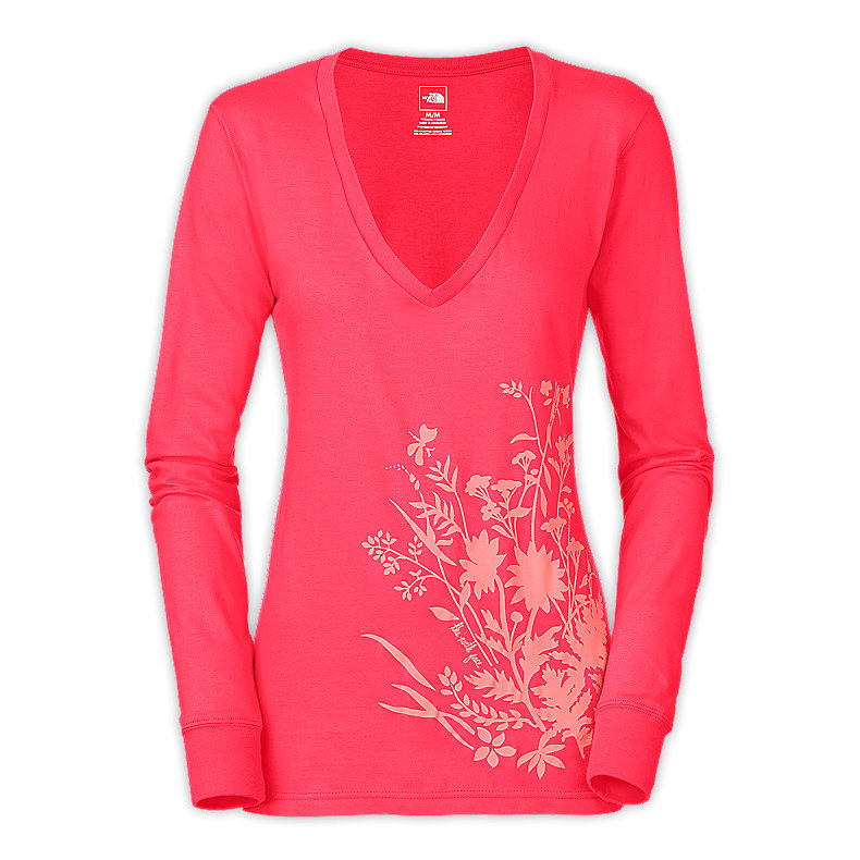 NORTH FACE WOMEN CLEMENT TEE TEABERRY PINK