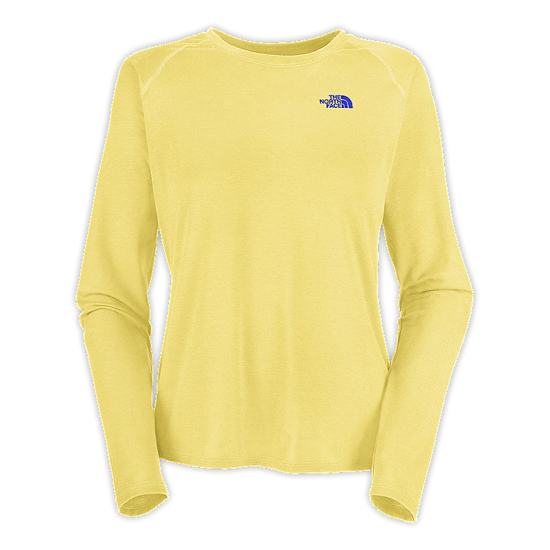 NORTH FACE WOMEN REAXION TEE STINGER YELLOW
