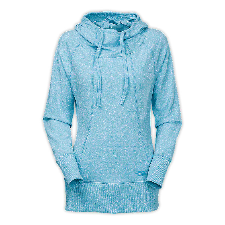 NORTH FACE WOMEN TADASANA PULLOVER HOODIE TURQUOISE BLUE