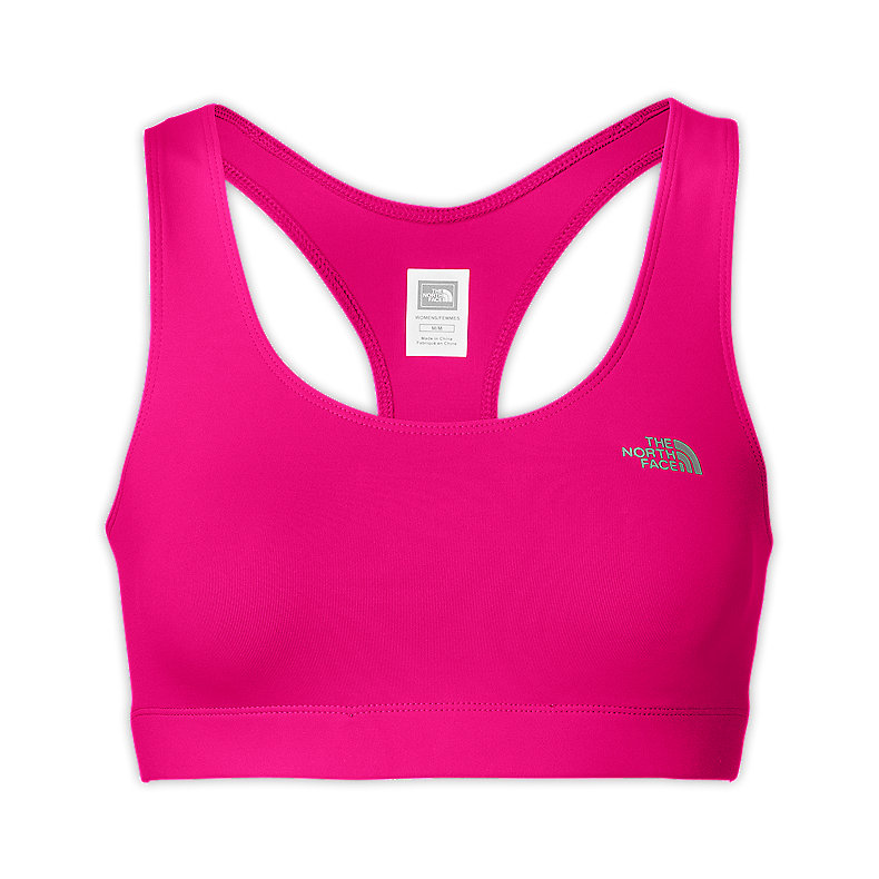 NORTH FACE WOMEN BOUNCE-B-GONE BRA RAZZLE PINK