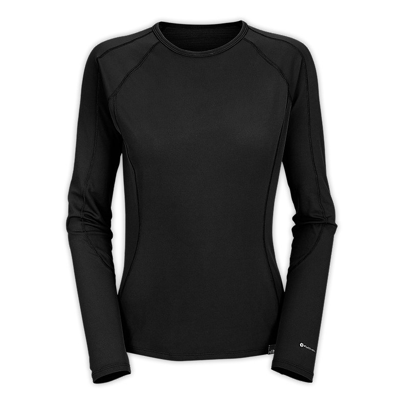 NORTH FACE WOMEN LIGHT CREW NECK TNF BLACK