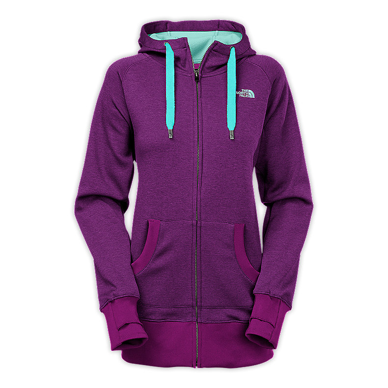 NORTH FACE WOMEN CYMBIANT HOODIE PREMIERE PURPLE