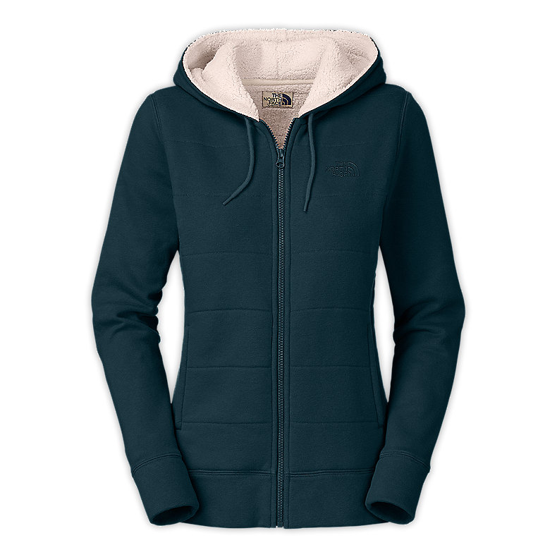 NORTH FACE WOMEN TIMBERWOOD FULL ZIP HOODIE KODIAK BLUE