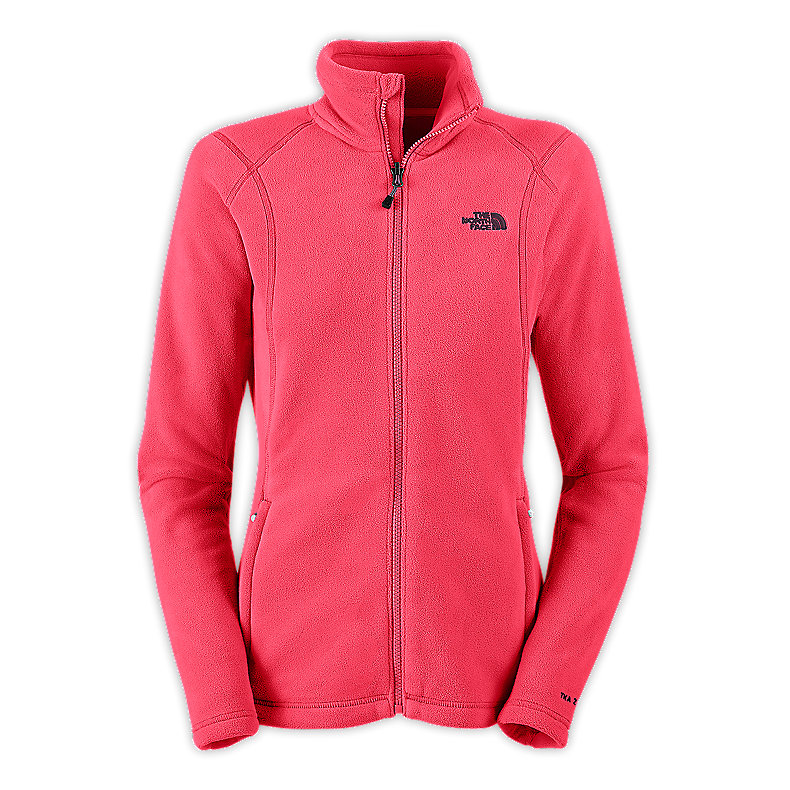 NORTH FACE WOMEN TKA 200 FULL ZIP TEABERRY PINK