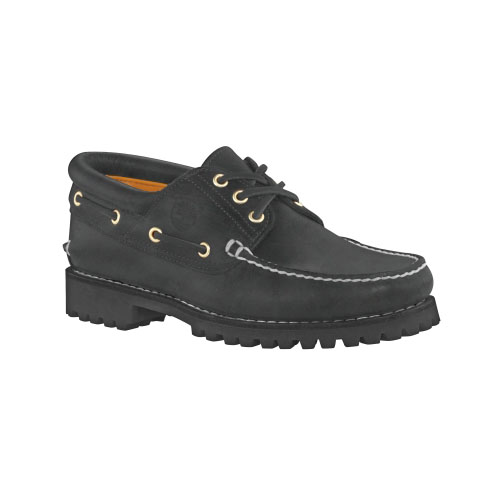 Timberland Mens Earthkeepers 3-Eye Classic Lug Shoes Black